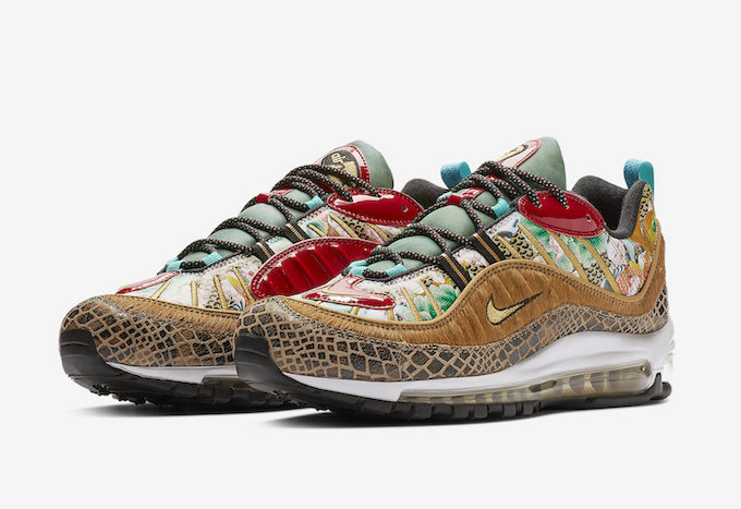 692cf7e6c1a3 The NIKE AIR MAX 98 WHAT THE CHINESE NEW YEAR is due to release sometime in  JANUARY or FEBRUARY  hit the banner below to shop the latest footwear from  NIKE ...