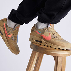 38ca9700f22e Out Now  Nike x Off-White Air Max 90 Desert Ore
