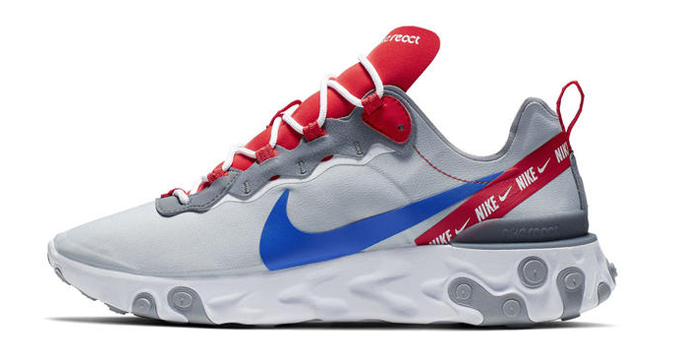 Oficial itálico material  Swoosh Mania: Nike React Element 55 Overbranded - The Drop Date