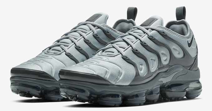 a5d1ef34e01 Lead the Pack  Nike Air VaporMax Plus Wolf Grey - The Drop Date