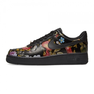 NIKE AIR FORCE 1 07 LXX W – FLORAL – BLACK – AVAILABLE NOW b3e76a105734
