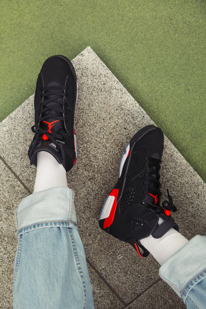 A Closer Look At The Nike Air Jordan 6 Infrared The Drop