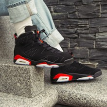 finest selection 1a860 996cd A Closer Look at the Nike Air Jordan 6 Infrared