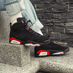 finest selection 8164c 3a131 A Closer Look at the Nike Air Jordan 6 Infrared