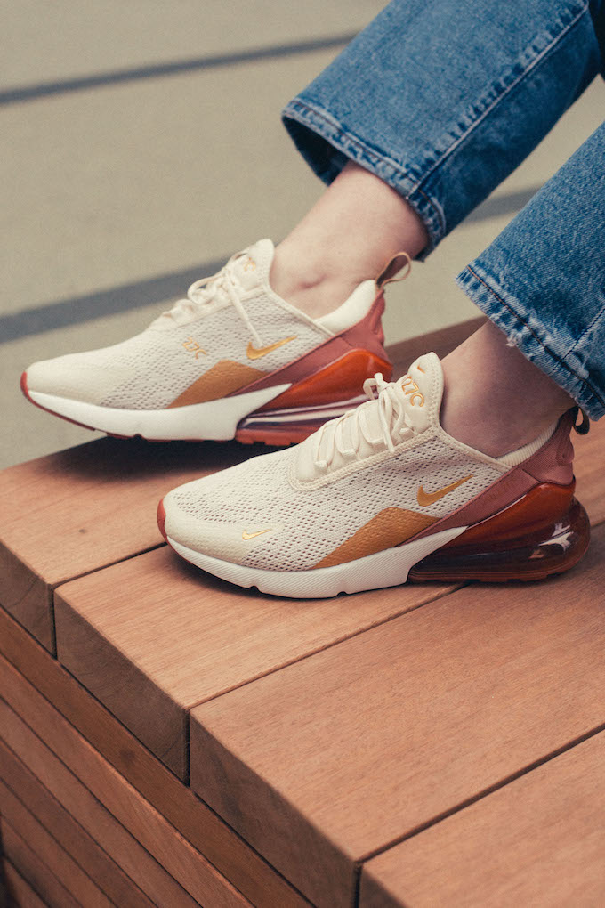 Nike WMNS Air Max 270 Dusty Peach: On Foot Shots The Drop Date