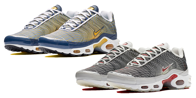 59c57487d4c Available Now  the Nike Air Max Plus Grid Series Returns in Strong ...