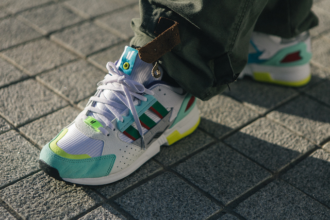 df95f5c516157 The OVERKILL x ADIDAS CONSORTIUM ZX 10.000C  I CAN IF I WANT  rekindles the  partnership between the Three Stripes and one of the most respected  retailers in ...