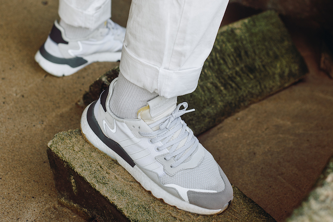 sports shoes 9929a 440ab adidas Nite Jogger Ftwr White  a Closer Look