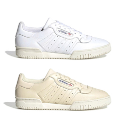 adidas Powerphase Cloud White and Ecru Tint