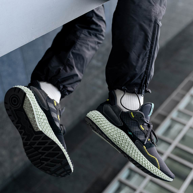 b31cedb73 The adidas ZX4000 4D Carbon Puts Future in Your Stride - The Drop Date