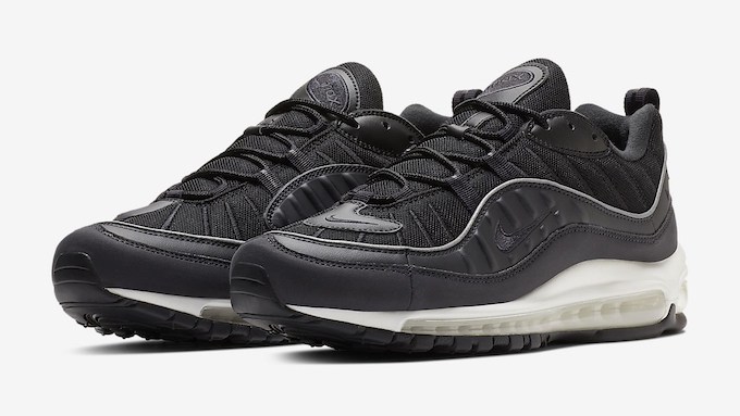 The Nike Air Max 98 Oil Grey Is Mighty Slick The Drop Date