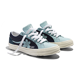 online store 88374 97506 The Converse x GOLF le FLEUR One Star Ox Goes 2 Tone