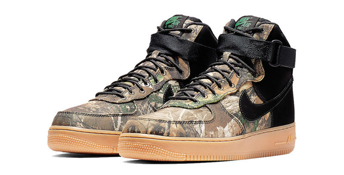 best cheap 5b827 42ab4 Both colourways of the NIKE AIR FORCE 1 HIGH REALTREE CAMO are set to drop  on FRIDAY 8 FEBRUARY. While you wait, hit the banner below to shop the  latest ...