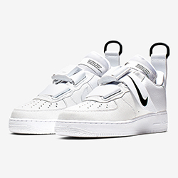 the latest 365cd ee78e The Nike Air Force 1 Utility White Lands in White