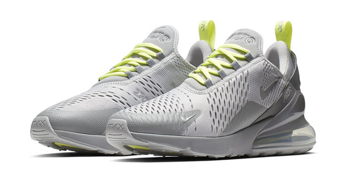 f89df5bd378 The Swoosh plugs in and charges up for two fresh takes on the NIKE AIR MAX  270…