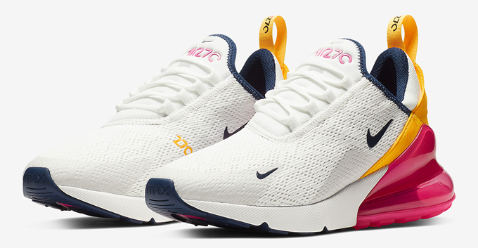 e3bb51d303d Available Now  Nike WMNS Air Max 270 Laser Fuchsia - The Drop Date