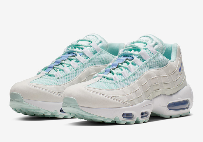74a4278cf4 Tune into Summer with the Nike WMNS Air Max 95 Teal Tint - The Drop Date