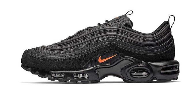 The Nike Tuned 1 Air Max 97 Gets a Slick Black Makeover - The Drop Date f713f0c9f