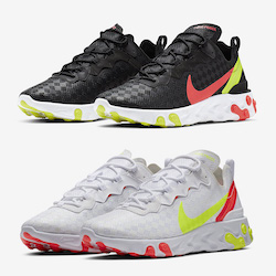 online store a6354 12c7f Patterned Uppers Hit the Nike React Element 55