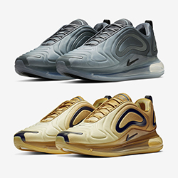 2da123ff992 The Nike Air Max 720 Returns in Gold and Grey Gradients