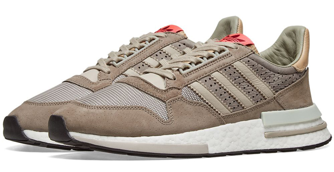 adidas zx 500 simple brown