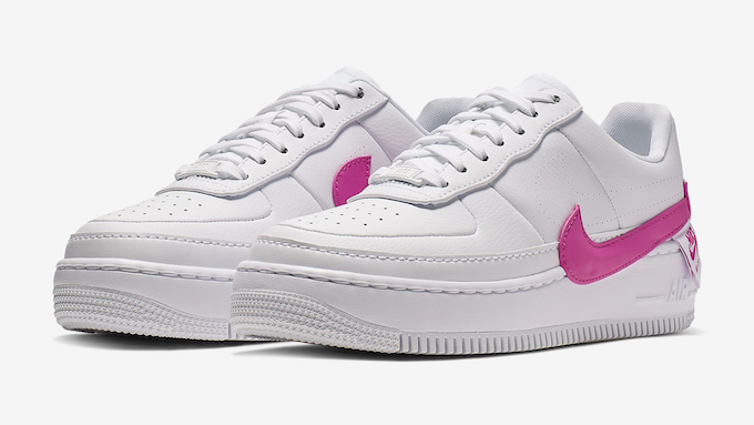 bf4cdf2bb2d68 Available Now  Nike WMNS Air Force 1 Jester XX Laser Fuchsia - The ...