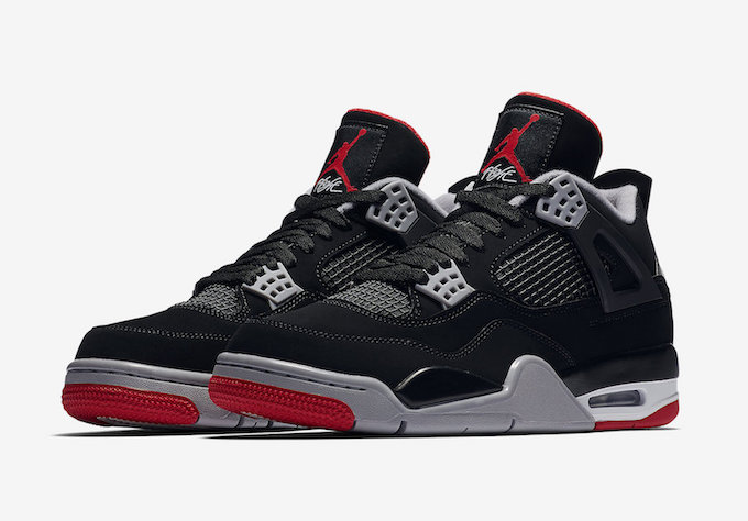40dd65c8 Celebrate History with the Nike Air Jordan 4 Retro OG Bred - The ...