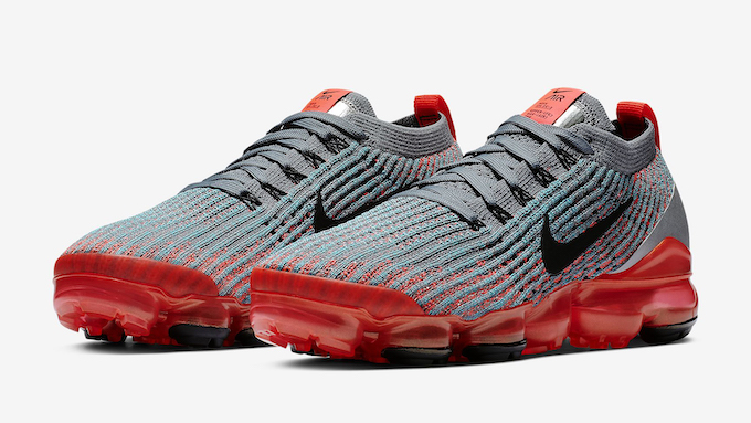 best website bd953 6c3ae Out Now  Nike WMNS Air VaporMax Flyknit 3 Flash Crimson