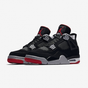 huge discount 4c4fc 4e23b Celebrate History with the Nike Air Jordan 4 Retro OG Bred