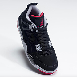 Celebrate History with the Nike Air Jordan 4 Bred c9e9742c6
