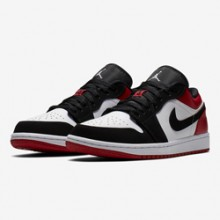 899d3d5ff7ed Nike Air Jordan 1 Low Black Toe  an Icon is Reconstructed