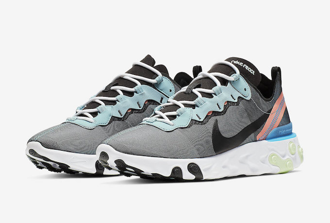 aff22586c6372 Coming Soon  Nike React Element 55 Ocean Cube - The Drop Date