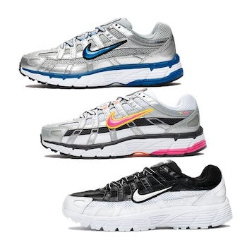 eb542ed79f28b Nike WMNS P-6000. BLACK WHITE - METALLIC SILVER TEAM ROYAL ...