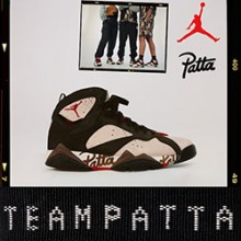 new product 49a1a 8c146 MJ Goes Dutch with the Nike x Patta Air Jordan 7