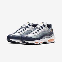 new concept dd492 bba1e Cut Through the Gravel with the Nike Air Max 95 Midnight Navy