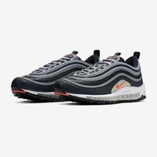 675cef9033b The Nike Air Max 97 Essential Comes Correct in Anthracite and Flash Crimson