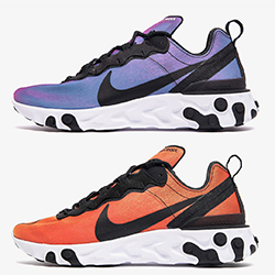 The Nike React Element 55 Captures Sunrise and Sunset 21201a913