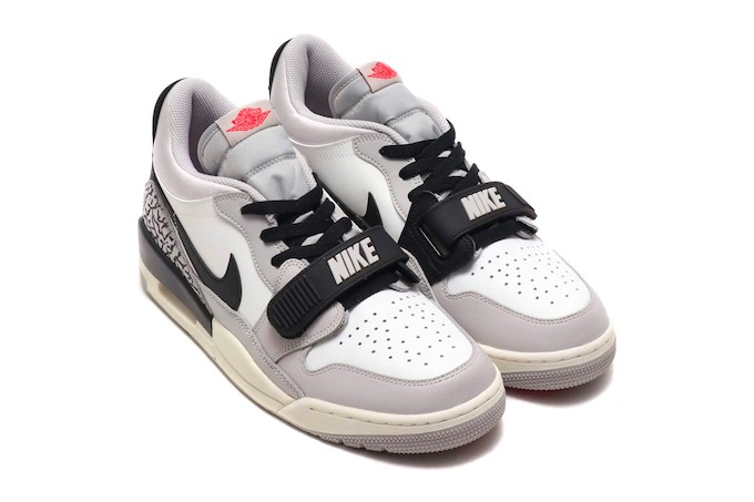 sports shoes e0b3c 36702 NIKE AIR JORDAN LEGACY 312 LOW WHITE AND FIRE RED