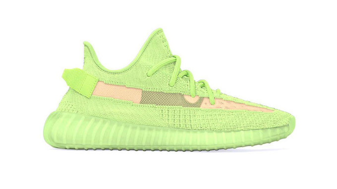 5492e8cc9 The adidas Yeezy Boost 350 V2 Glow in the Dark Lights Up the Streets ...