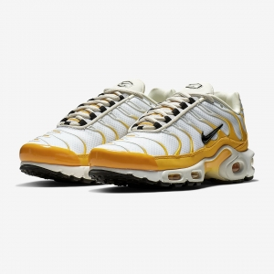 806ac46f3d91 Available Now  Nike WMNS Air Max Plus University Gold