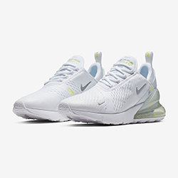 competitive price 8e03f 12283 Available Now  Nike Air Max 270 White and Volt