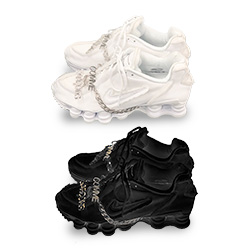 low priced 88791 2dae7 Future Shox  the COMME des Garçons x Nike Shox TL is Off the Chain