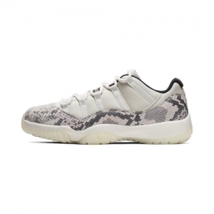 b9b91143f0c7 Nike Air Jordan 11 Low Snake – Light Bone – AVAILABLE NOW
