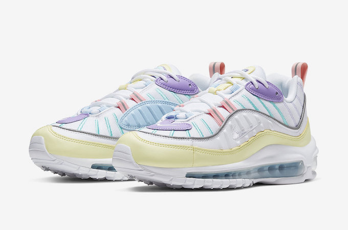 quality design c6dd9 9f77d This Nike Air Max 98 is a Pastel Treat. May 3rd, 2019  News. pastel