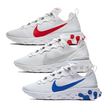 710f4cd1926a Nike React Element 55 SE - Red   White   Blue - AVAILABLE NOW - The ...