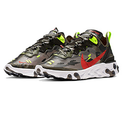 7dca5b281b70 Camo Tech Styles with the Nike React Element 87 Medium Olive
