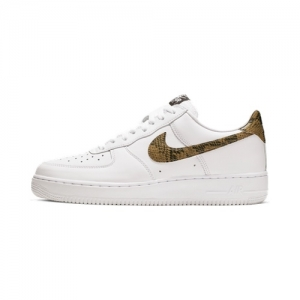 online store 7e480 feaa0 Nike Air Force 1 Low Retro PRM QS – Ivory Snake – AVAILABLE NOW