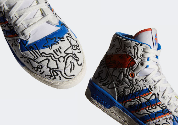 Adidas Rivalry Keith Haring Sneakers