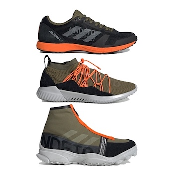 new concept 036ce 2b268 adidas Originals x Undefeated Training Collection