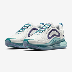 9012d0c65562 The Nike WMNS Air Max 720 Spirit Teal is a Head Turner